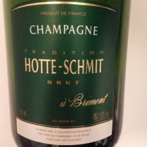 Champagne - Brut - Hotte-Schmit - Cuvée tradition