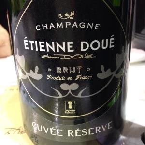 Champagne - Etienne Doué - Brut - Cuvée Réserve