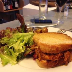 Dune - Restaurant Paris - Plat - Casse croûte pulled pork