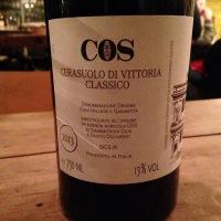 Italie – Sicile – Cerasuolo di Vittoria Classico – Azienda COS – 2013
