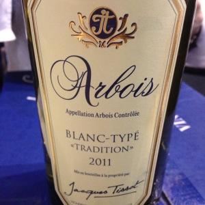 Jura - Arbois – Jacques Tissot – Blanc-typé Tradition - 2011