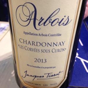 Jura - Arbois – Jacques Tissot – Chardonnay – Les Corvées sous Curon – 2013