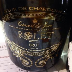 Jura – Crémant du Jura – Domaine Rolet Père & Fils – Brut - Cœur de Chardonnay