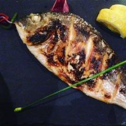 Un poisson bien grillé
