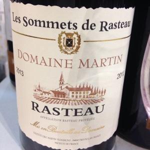 Vallée du Rhône - Rasteau - Domaine Martin - Les Sommets de Rasteau - 2013