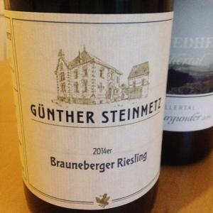 Allemagne - Mosel - Weingut Günther Steinmetz - Brauneberger Riesling - 2014