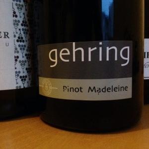 Allemagne - Rheinessen - Weingut Gehring - Pinot Madeleine - 2014