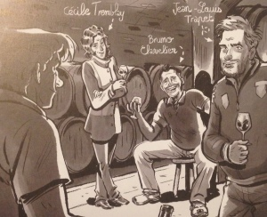 BD - Un Grand Bourgogne oublié - Cecile Tremblay - Bruno Clavelier - Jean-Louis Trapet