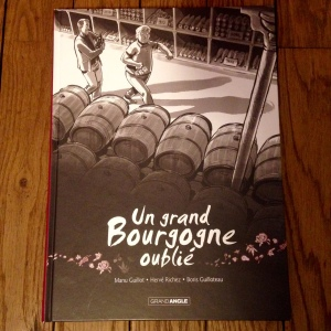 BD - Un Grand Bourgogne oublié - couverture