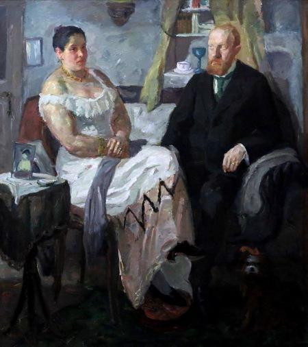 Berlinischegalerie - Max Beckmann - die Liebespaar