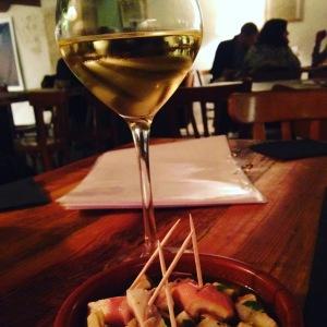 Marseille - Bar à vins - Les Membres - Salade de poulpe
