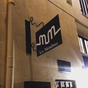 Marseille - Bar à vins - Les Membres