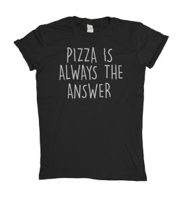 T-shirt-pizza