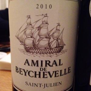 Bordelais - Saint-Julien - Amiral de Beychevelle - 2010