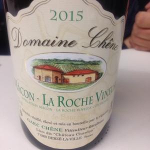 Bougrogne - Mâcon-La Roche Vineuse - Domaine Chêne - 2015