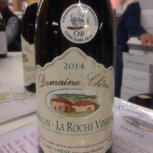 Bougrogne - Mâcon-La Roche Vineuse - Domaine Chêne - Cuvée Prestige - 2014
