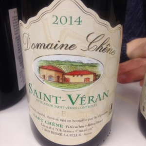 Bougrogne - Saint-Véran - Domaine Chêne - Cuvée Prestige - 2014