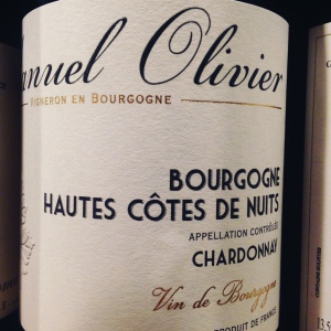 Bourgogne - Hautes-Côtes de Nuits - Domaine Manuel Olivier – Chardonnay - 2012
