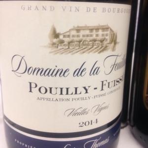Bourgogne - Pouilly-Fuissé - Domaine de la Feuillarde - Cuvée Vieilles Vignes - 2014