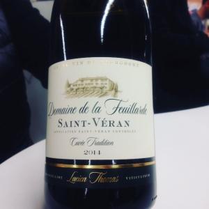 Bourgogne - Saint-Véran - Domaine de la Feuillarde - Cuvée Tradition - 2014