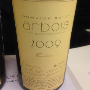 Jura - Arbois - Domaine Rolet - 2009