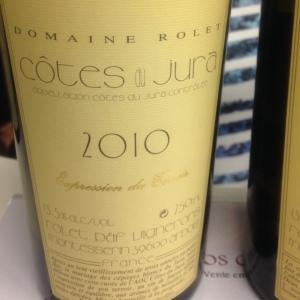 Jura - Côtes de Jura - Domaine Rolet - Cuvée Expression du Terroir - 2010