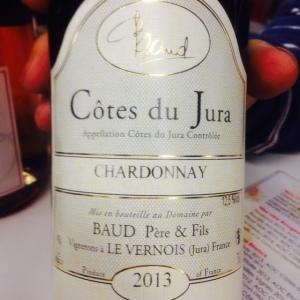 Jura - Côtes du Jura - Baud Père & Fils - Chardonnay - 2013