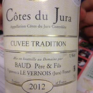Jura - Côtes du Jura - Baud Père & Fils - Cuvée Tradition - 2012