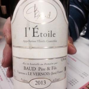 Jura - l'Etoile - Baud Père & Fils - 2013