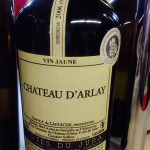 Jura - Vin Jaune - Château d'Arlay - 2006