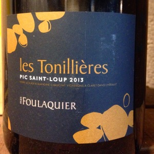 Languedoc-Roussillon - Pic Saint-Loup - Mas Foulaquier - Les Tonillières - 2013