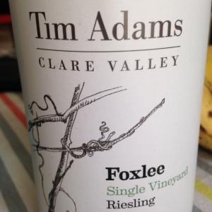 Australie - Australie du Sud - Clare Valley - Tim Adams - Riesling - Foxlee - 2012