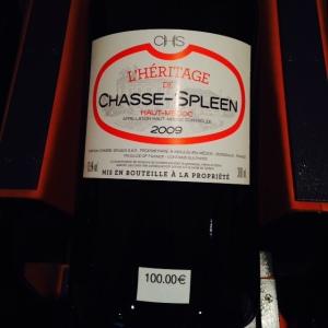 Bordeaux - L'Intendant - Cave à vins - 05 - Chasse-Spleen