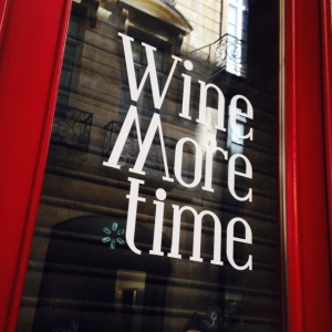 Bordeaux - Wine More Time - Bar à vins - 01 - Devanture