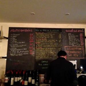 Bordeaux - Wine More Time - Bar à vins - 08 - Tableau