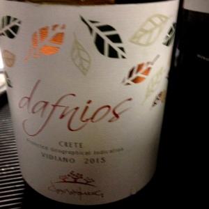 Grèce - Crête IGP - Douloufakis Winery - Dafnios blanc - vidiano - 2015
