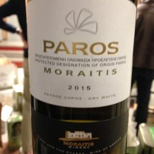 Grèce - Paros - Moraitis Winery - Blanc - 2015