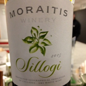 Grèce - Paros - Moraitis Winery - Cuvée Sillogi - Blanc - 2015