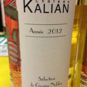 Sud-Ouest - Monbazillac - Château Kalian - Cuvée Selection de Grains Nobles - 2012