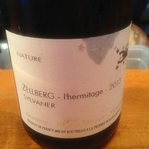 Alsace - Sylvaner - Julien Meyer - Zellberg - L'Hermitage - 2013