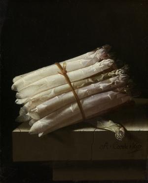 Amsterdam-Rijksmuseum- Adriaen Coorte - Still Life with Asparagus