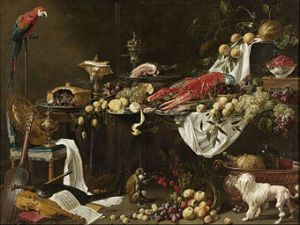 Amsterdam-Rijksmuseum-Adriaen van Utrecht - Banquet Still Life