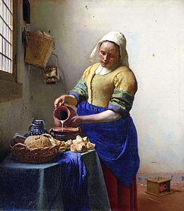 Amsterdam-Rijksmuseum-Johannes_Vermeer_-_De_melkmeid-La_laitière