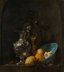 Amsterdam-Rijksmuseum-Willem Kalf-Still Life with Silver Ewer