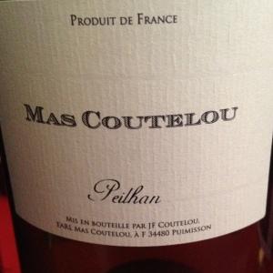 Languedoc-Roussillon - Vin de France - Mas Coutelou - Jeff Coutelou - Peilhan - 2015