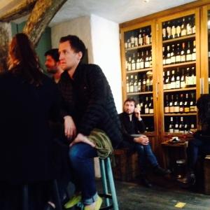Paris - Septime la cave - Bar cave à vins - armoire