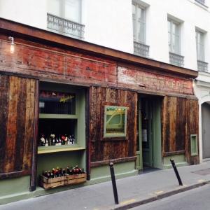 Paris - Septime la cave - Bar cave à vins - devanture