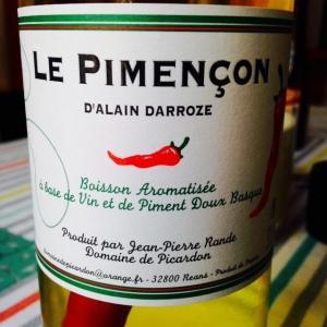 Sud-Ouest - Apéritif de vin - Alain Darroze - Le Pimençon