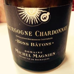 Bourgogne - Bourgogne blanc - Domaine Michel Magnien - Bons Bâtons - 2014
