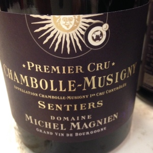 Bourgogne - Chambolle-Musigny 1er Cru - Domaine Michel Magnien - Sentiers - 2014